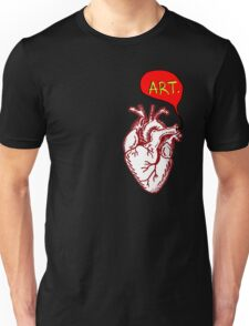 "Heart- ""Art"" Unisex T-Shirt"