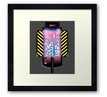 I Ain't Afraid of No Host Framed Print