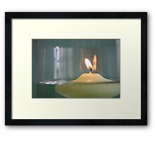 Waxing Lyrical ... Framed Print