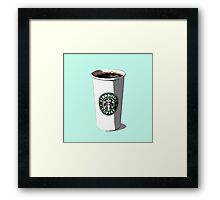Starbucks Cup Framed Print