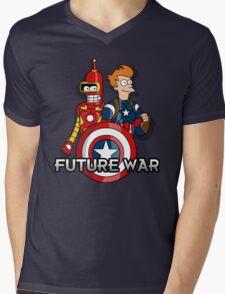 Future war Mens V-Neck T-Shirt