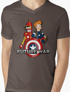 Future war Mens V-Neck T-Shirt