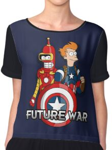 Future war Chiffon Top