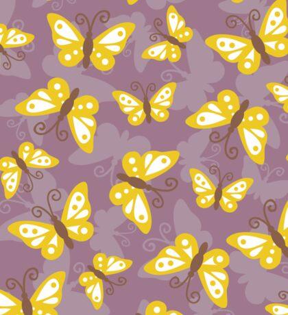 butterflies pattern Sticker