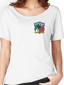 Gulf Coast Fiat Club / small logo Women's Relaxed Fit T-Shirt