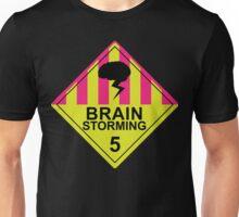 Brain Storming- Pink & Yellow Unisex T-Shirt