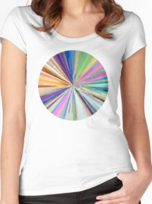 spin around a hundred times.  Women's Fitted Scoop T-Shirt