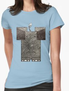 minimal_mammal Womens Fitted T-Shirt