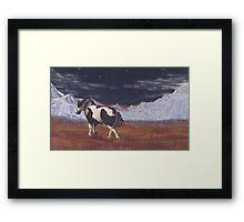 Lone Traveler  Framed Print