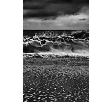 The Wave Upon The Shore Photographic Print
