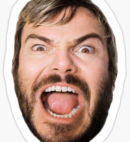 Jack Black Sticker