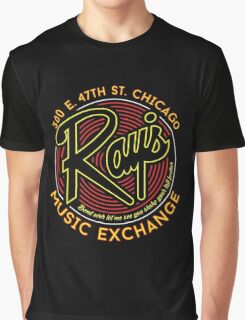 Ray's Music Exchange - Bend Over Let me see you shake your tail feather..! Graphic T-Shirt