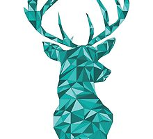 Geometric Deer by BethImogenx