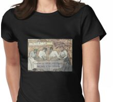 Four Friends Womens Fitted T-Shirt
