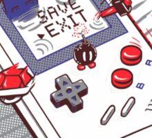 Mario - Game Boy Sticker