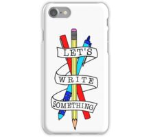 Let's Draw Something iPhone Case/Skin