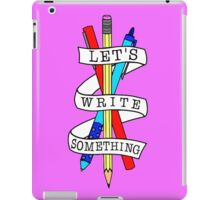Let's Draw Something iPad Case/Skin