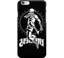 muay thai skull thailand martial art sport power kick impact iPhone Case/Skin