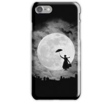 Mary poppins moon iPhone Case/Skin