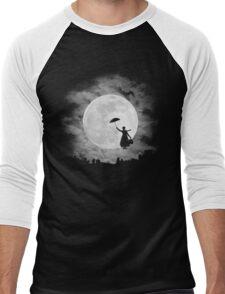 Mary poppins moon Men's Baseball ¾ T-Shirt