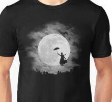 Mary poppins moon Unisex T-Shirt