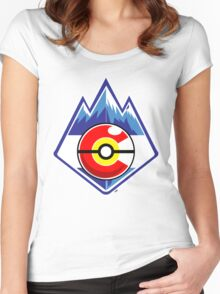 Colorado Pokemon Trainer Women's Fitted Scoop T-Shirt
