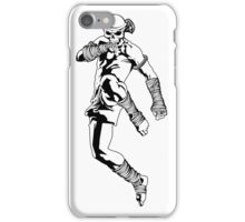 muay thai skull thailand martial art sport power kick impact decal iPhone Case/Skin
