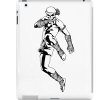 muay thai skull thailand martial art sport power kick impact decal iPad Case/Skin