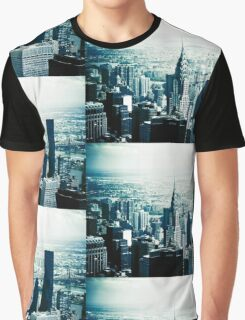 NYC - Chrysler Building Graphic T-Shirt