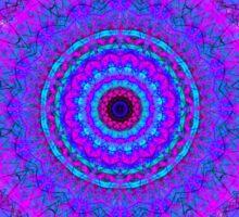 Purple Psyche Mandala Sticker