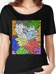 Color Shards Women's Relaxed Fit T-Shirt