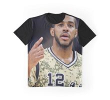 Prominent Player Graphic T-Shirt