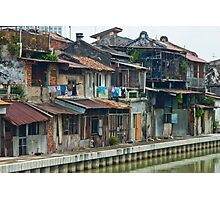 Melaka Riverfront Photographic Print