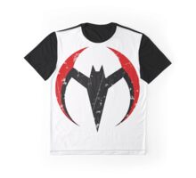 Batman Beyond - Batarang Distressed Graphic T-Shirt