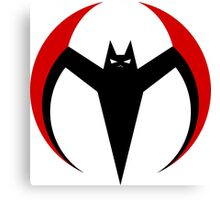 Batman Beyond - Batarang Comedic Canvas Print