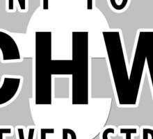 I Want to be a Schwa - It's Never Stressed   Linguistics Sticker