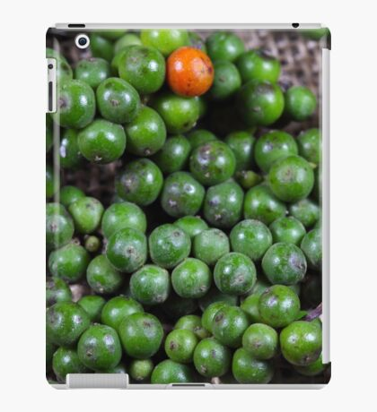 green pepper berries iPad Case/Skin
