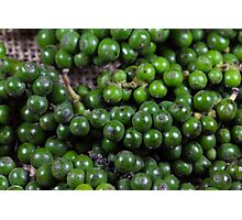 green pepper berries Photographic Print