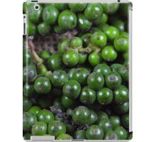 green pepper berries iPad Case/Skin