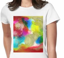 Hidden Sun Womens Fitted T-Shirt