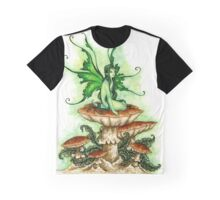 Green Faery Graphic T-Shirt
