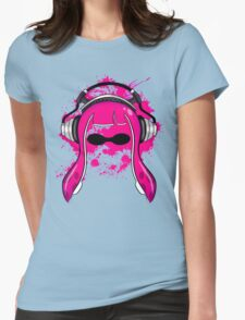 Inkling girl (Magenta) Womens Fitted T-Shirt