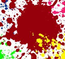 Colour Splash Sticker