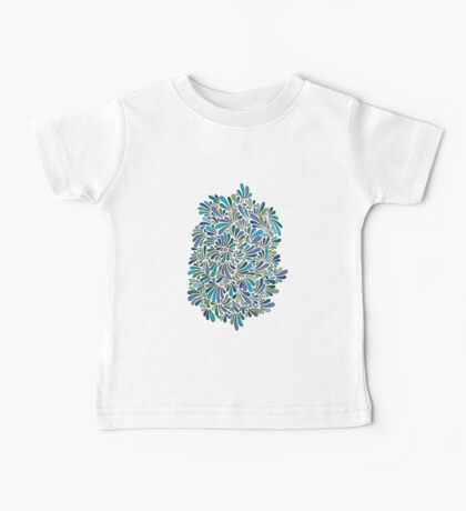 Blossom in Blue Baby Tee