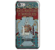 Alice In Wonderland And The Deck Of Cards iPhone Case/Skin