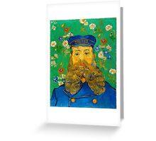 Vincent van Gogh Portrait of Joseph Roulin Greeting Card