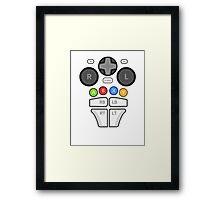 Controller Body ;)  Framed Print