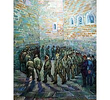 Vincent van Gogh Prisoners Exercising Photographic Print