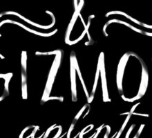 Gadgets and Gizmos Aplenty Sticker