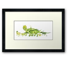 ceratopsians & co. Framed Print
